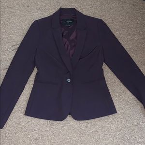 Purple Banana Republic Blazer